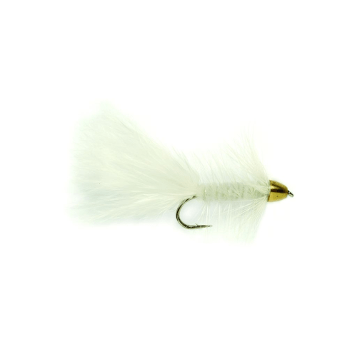 Conehead Woolly Bugger White